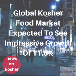 Global Kosher Food Market Expected To See Impressive Growth Of 11.6%