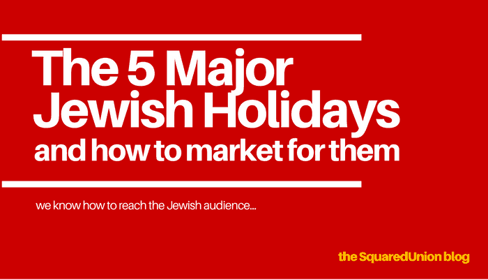 What are the Major Jewish Holidays?