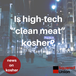"""Is high-tech """"clean meat"""" kosher?"""